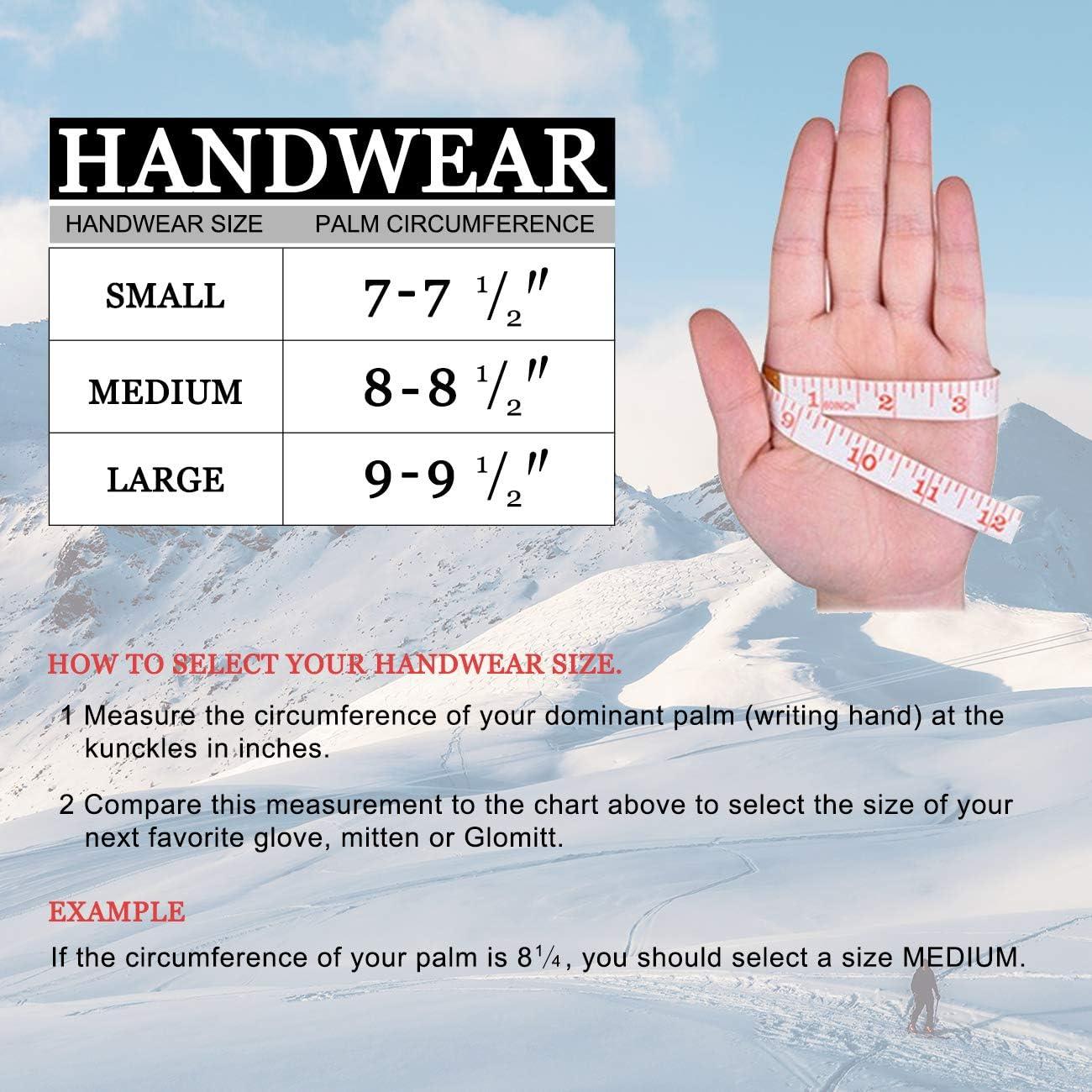 Winter Warm Mittens Thinsulate Thermal Insulation Suede Mittens Gloves Unisex