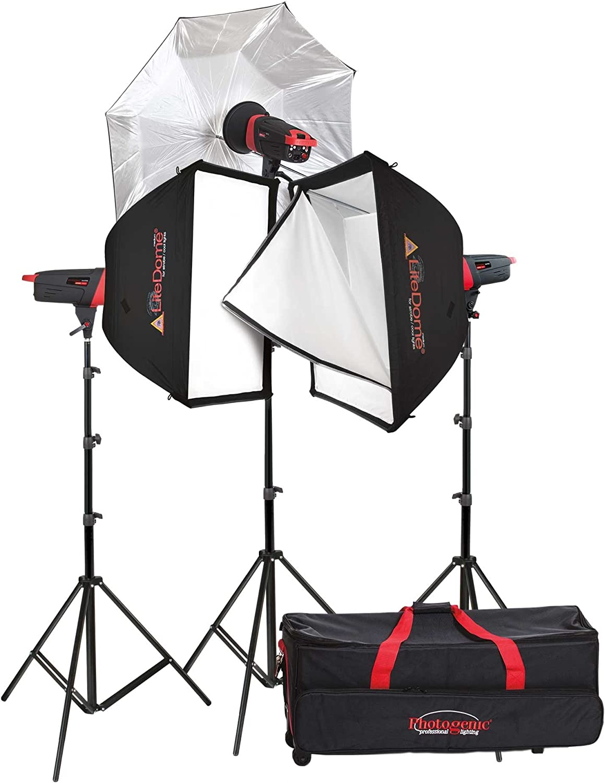 Photogenic Popular brand in the world Max 76% OFF Matrix MCD400R 400Ws Kit Monolight 907006 3-Light