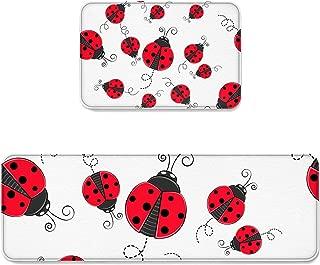 Best ladybug kitchen rug Reviews