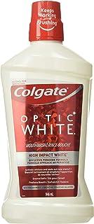 Colgate Optic White Mouthwash, Alcohol Free Icy Fresh Mint, 946 mL