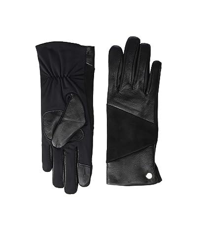 Echo Design Leather Block Superfit Gloves (Black) Extreme Cold Weather Gloves