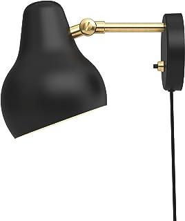 VL38 Wall Lamp, Louis Poulsen, Lámpara de Pared, Diseñada por Vilhelm Lauritzen (Negro)