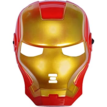 Sandbox Party Superhero Ironman Mask (Pack of 1)