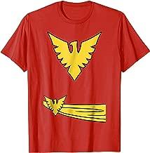 Marvel X-Men Phoenix Jean Grey Classic Comic Costume T-Shirt