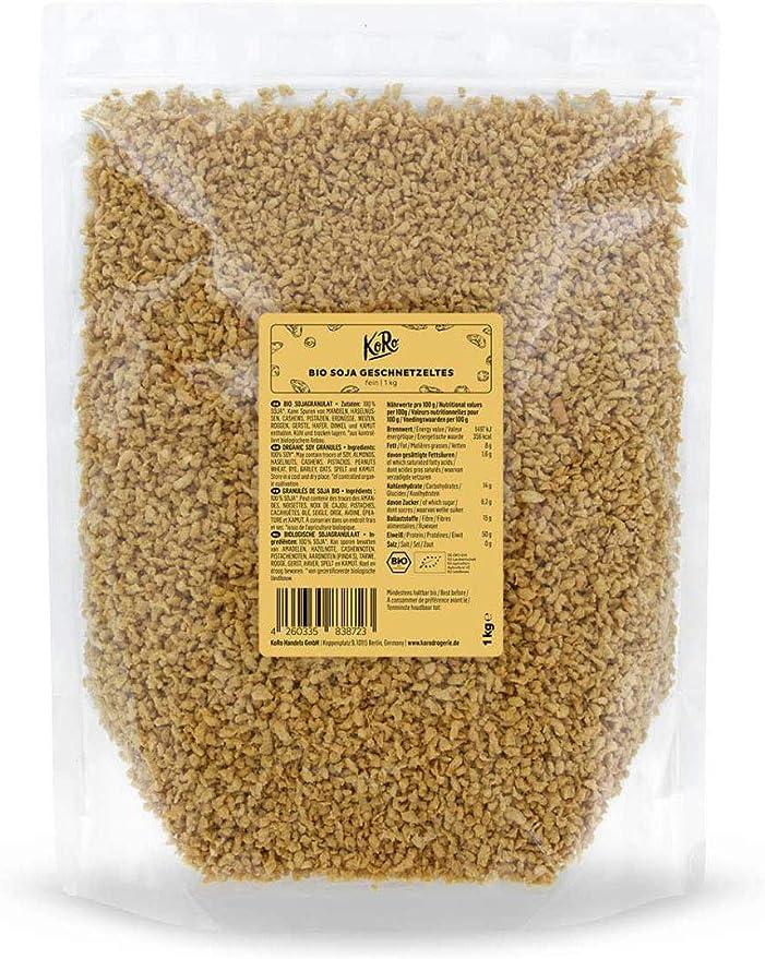 120 opinioni per KoRo- Granulare proteico di soia bio 1 kg- qualità biologica, straccetti