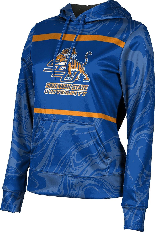 ProSphere Savannah State University Girls' Pullover Hoodie, School Spirit Sweatshirt (Ripple)