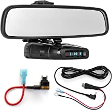 $45 Get Radar Mount Mirror Mount Bracket + Direct Wire Power Cord + Micro Fuse Tap for Whistler (3001508)