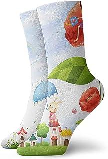 BEDKKJY, Calcetines Deportivos God Is Love Vintage para Mujer Calcetín Casual Decoración Calcetín para niños