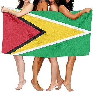 Beach Towel Flag Of Guyana 80