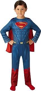 DC Comics - Disfraz de Superman Justice League para niño, infantil 3-4 años (Rubie's 640811-S)