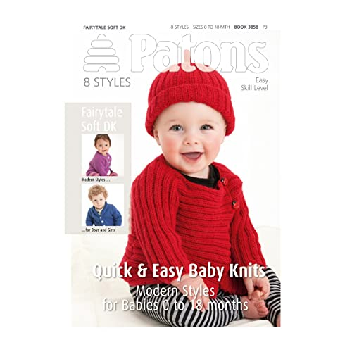 09f6d8af2206 Patons Baby Knitting Patterns  Amazon.co.uk