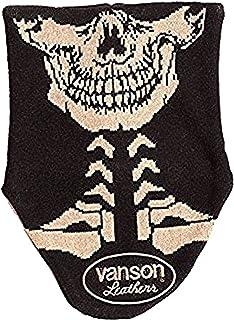 (バンソン) VANSON リバーシブルネックウォーマー ロング NVNW-502 ボーン スカル