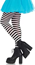 Leg Avenue Women's Nylon Striped Tights
