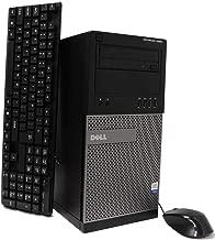$259 » Dell Optiplex 7020 Tower Desktop PC, Intel Quad Core i5 (3.30GHz) Processor, 16GB RAM, 2TB Hard Drive, Windows 10 Pro, DVD, Keyboard, Mouse, WiFi (Renewed)