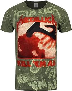 metallica kill em all over t shirt