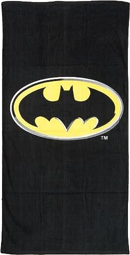 hermoso Full Talla negro Batman Logo Toalla Toalla Toalla de Playa Piscina - Kids Toalla de ba_o  apresurado a ver