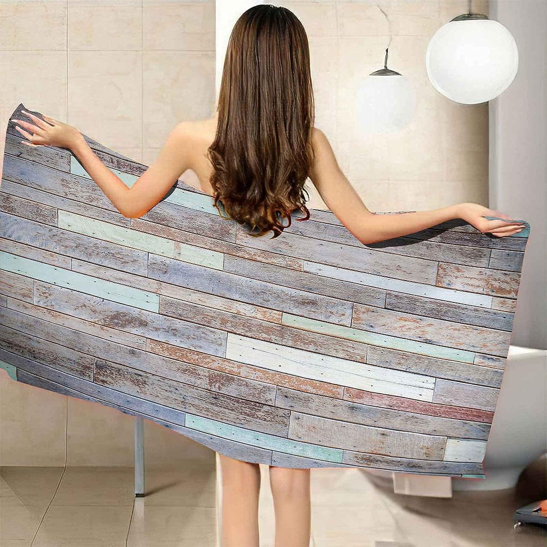 IRUAIF Microfiber Beach Nippon regular agency Towel Popular popular Vintage Printing 78.7x7 Wood Board