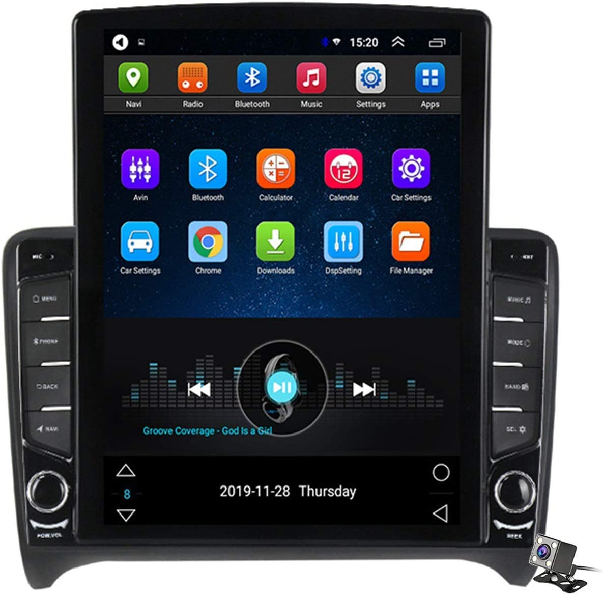 Car Stereo Android 9.0 OFFicial mail order Radio for Audi 2006-2012 Na Raleigh Mall TT 8J MK2 GPS