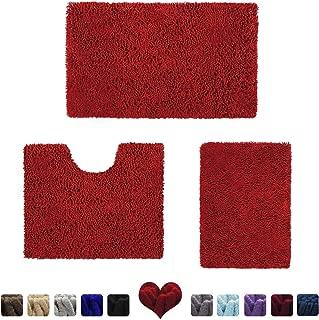 Best simple red rug Reviews