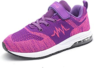 JARLIF Kids Running Shoes Lightweight Tennis Air Trail Athletic Sneakers for Boys & Girls
