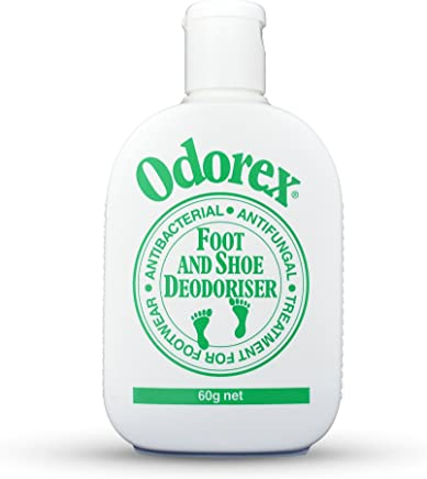 Foot Odour Eliminator for Smelly & Stinky Feet - Fungus & Athletes Foot Prevention   Shoe Deodoriser and Antiperspirant – Odorex Original - Antifungal, Kills Odor FAST   10 shoes fresh for 1 yr