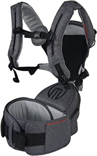 b083b3d8bc7 MiaMily Hipster Smart Revolutionary 3D Baby Carrier (Newborns to 48  Months 4 Years)