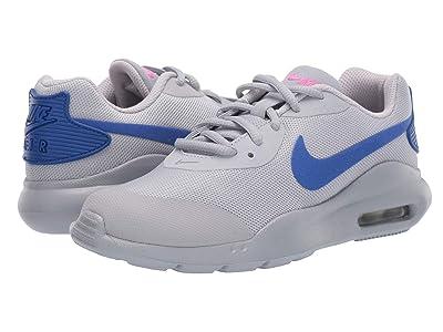 Nike Kids Air Max Oketo (Big Kid) (Wolf Grey/Racer Blue/Laser Fuchsia) Kids Shoes