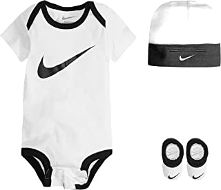 68fdfb9fe NIKE Children's Apparel Baby Boys' Hat, Bodysuit and Bootie Three Piece Set
