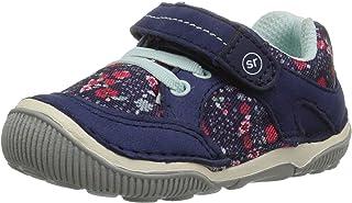 Stride Rite Baby-Girls Unisex-Child SBGS190801 Rosie Toddler Girl's Lightweight Leather Sneaker Blue Size: