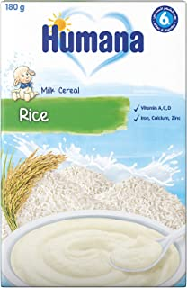 Humana Rice Milk Gluten-free Infant Cereal- 180g