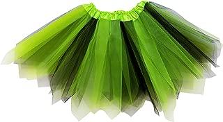 green and black tutu