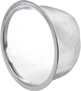 TOOGOO(R) Tetera de diametro de 80 mm Colador de malla de te de menta Hoja de especias cesta colador