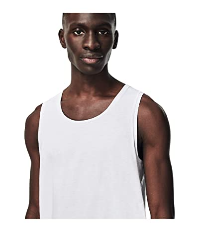 Lacoste 3-Pack Sleeveless Slim Essential T-Shirt (White) Men