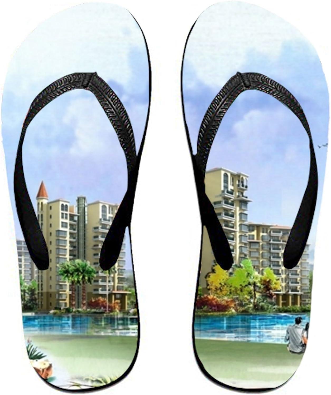 Huangyan Rog Sweet Cute Funny Womens Flip Flops, Funny Thong Sandals, Beach Sandals