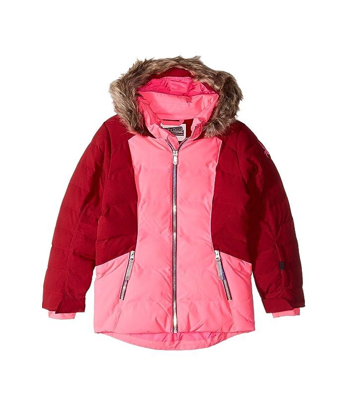 Atlas Synthetic Down Jacket (Big Kids) (Bryte Bubblegum) Girl's Clothing