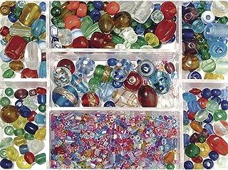 """Rayher perles en verre €"""" perles pour bijoux parfaites pour le tissage de perles €"""" bijoux fantaisie pour les fans de bric..."""