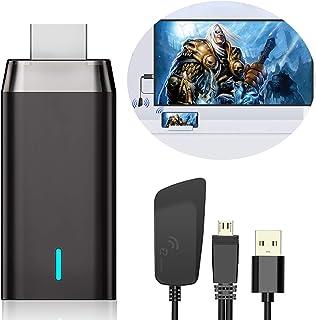 Wireless HDMI Display Dongle Adaptador, DIWUER 5G/1080P Miracast Airplay HDMI Dongle Receptor para Android / iPhone / iPad...