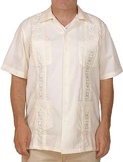 Cuban Style Guayabera Shirt/Cream
