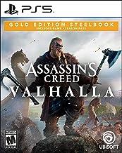 Assassin's Creed Valhalla PlayStation 5 Gold Steelbook Edition