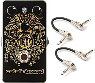 Catalinbread GALILEO Foundation Overdrive Pedal with Geartree Patch Cables