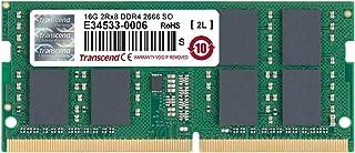 Transcend Information 16GB DDR4 2666 SO-DIMM 19-19-19 2Rx8 (1Gx8)