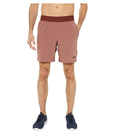 Nike Flex Shorts Active (Dark Pony/Terra Blush/Black) Men