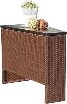 Amazon.com: FDInspiration - Juego de muebles de jardín con 2 ...