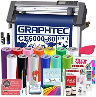 Graphtec Plus CE6000-60 24 Inch Professional Vinyl Cutter with Bonus Software, Oracal 751, and 2 Year Warranty