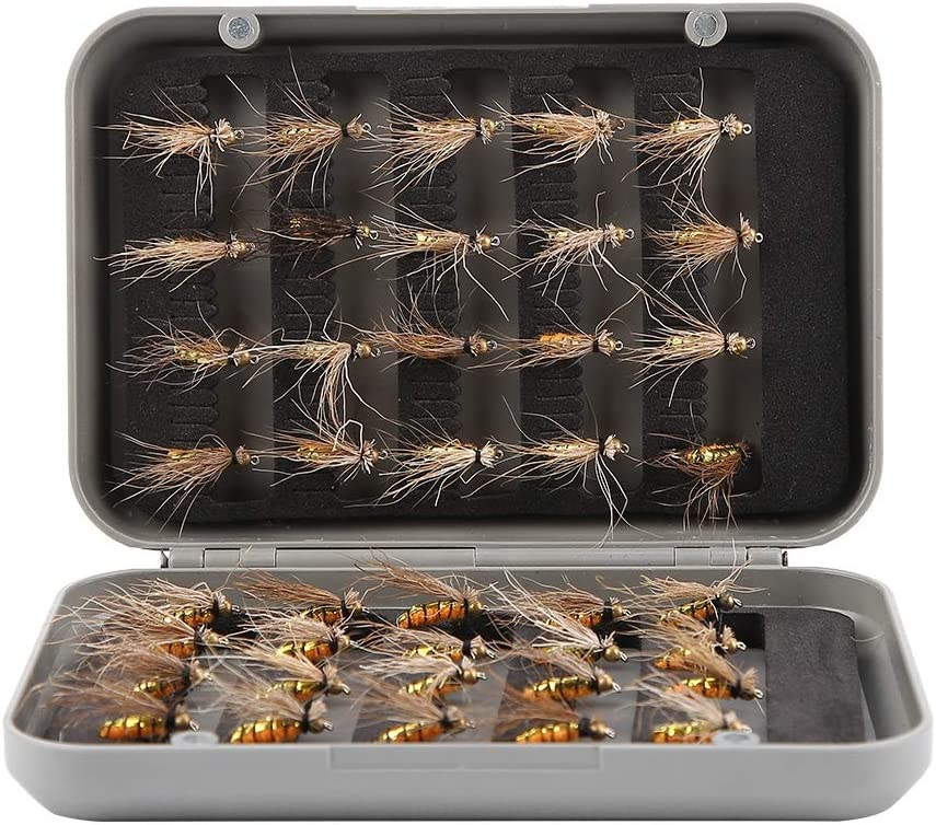 SOONHUA Mosquito Fly Fishing Artificial security Ranking TOP12 Lure Set Insect