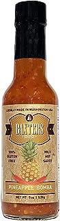 Baxter's Original Pineapple Bomba Hot Sauce   MILD   Gluten Free   Silver and Bronze Award Winner   Keto   5oz bottle
