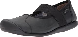 keen black leather shoes