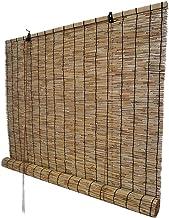 Stores Portable Rouleau Rideau en Bambou Taille Personnalisable Roseau Occultation Verticale en Bois Stores int/érieurs et ext/érieurs partition Porte pour la Maison