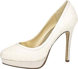 1902fb380b110 Miss Rainbow Kids Mary-Jane Style Bridesmaids Shoes Girls - Verity - White  Satin