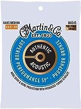Martin Guitar MA545 Authentic Acoustic Bluegrass Guitar Strings, 92/8 Phosphor Bronze